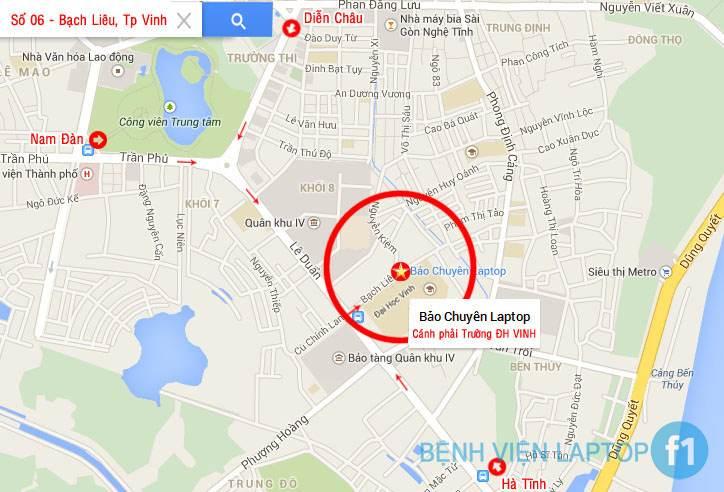 bao chuyen - vinh map