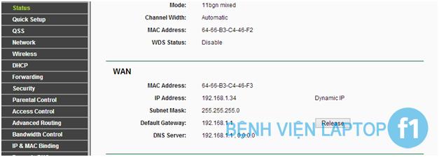 Hướng dẫn cấu hình bộ phát Wifi Tplink TL-WR941ND tốc độ 450Mbps