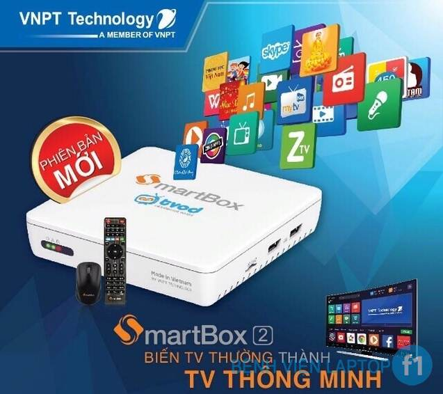Android Tivi Box VNPT SmartBox V2 RAM 2GB