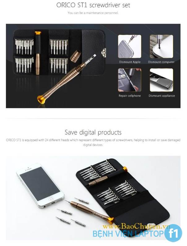 TP VINH: Nơi bán Bộ Vít Mở Laptop + Macbook + iPhone chính hãng, giá rẻ, uy tín, chất lượng nhất Nghệ An